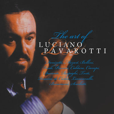 The art of Luciano Pavarotti (tenor)